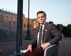 04.09.2017, Parlament, Wien, AUT, ORF, Sommergespräch mit Christian Kern, im Bild ORF Moderator Tarek Leitner // during political conversation of the Austrian Broadcasting Corporation with Austrian Chancellor Christian Kern in Vienna, Austria on 2017/09/04 EXPA Pictures © 2017, PhotoCredit: EXPA/ Michael Gruber