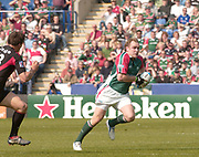 Leicester, Walker Stadium., Leicestershire, 5th April 2004, Heineken Cup, ENGLAND. [Mandatory Credit: Photo  Peter Spurrier/Intersport Images],Heineken Cup, Semi Final, Leicester Tigers vs Stade Toulouse, Walker Stadium, Leicester, ENGLAND: Andy Goode.