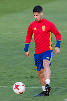 Marco Asensio during the training of Spanish national team under 21 at Ciudad del El futbol  in Madrid, Spain. March 21, 2017. (ALTERPHOTOS / Rodrigo Jimenez)