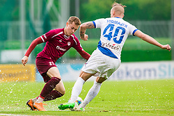 Zan ROGELJ vs Tadej VIDMAJER Football match between NK Triglav Kranj and NK Celje, on May 12, 2019 in Sport center Kranj, Kranj, Slovenia. Photo by Peter Podobnik / Sportida