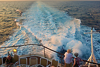 Pedal to the Metal. Rooster Tail Behind the M/V Explorer as it Left Nicaragua at 30 Knots. Image taken with a Leica X1 (ISO 100, 24 mm, f/4.5, 1/160 sec). .