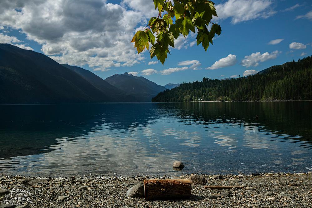 Slocan Lake, New Denver, Slocan Valley, West Kootenay, British Columbia, Canada