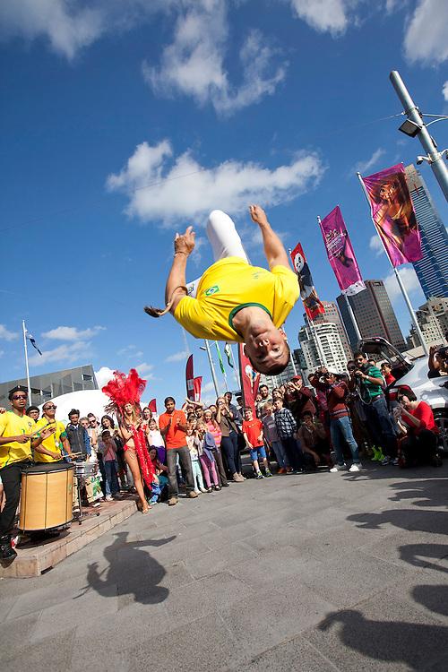 KIA World Cup promo, Federation Square, Melbourne