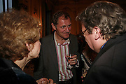 ANDREW MOTION, Seamus Heaney reading and party. Irish Embassy. Grosvenor Place. 21 April 2006. ONE TIME USE ONLY - DO NOT ARCHIVE  © Copyright Photograph by Dafydd Jones 66 Stockwell Park Rd. London SW9 0DA Tel 020 7733 0108 www.dafjones.com