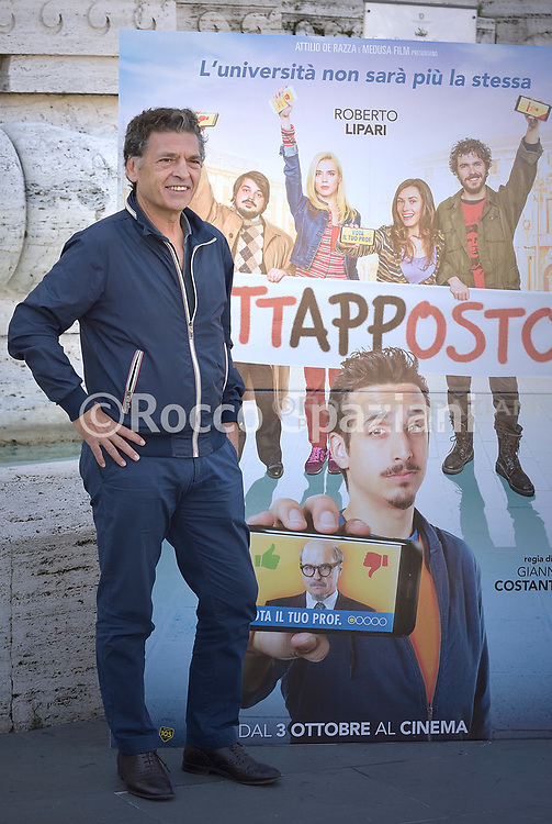 """Nini Bruschetta,.PHOTOCALL """"TUTTAPPOSTO"""" CON ROBERTO LIPARI, LUCA ZINGARETTI E IL CAST - VENERDI 27 SETTEMBRE - ROMA"""