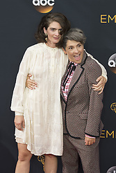 September 18, 2016 - Los Angeles, California, U.S. - GABY HOFFMANN and JILL SOLOWAY arrive for the 68th Annual Primetime Emmy Awards, held at the Nokia Theatre. (Credit Image: © Kevin Sullivan via ZUMA Wire)