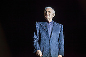 Charles Aznavour performing at  Barclaycard Center of Madrid