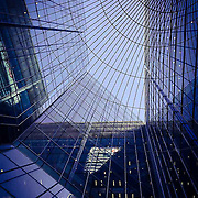 Feel like a bird in a cage...amazing weather and light to be out today on my bike. <br /> <br /> 15 Canada Square shot on iPhone 6.