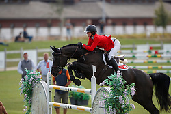 Paillot Emilie, SUI, Caja<br /> Young Riders European Championships Jumping <br /> Samorin 2017© Hippo Foto - Dirk Caremans<br /> 11/08/2017