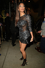Hollywood - Nicole Scherzinger at the Grammy's After Party 12 Feb 2017