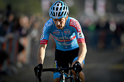 February 24, 2019 - Oostmalle, BELGIUM - Belgian Kevin Pauwels pictured in action during the men's elite race at the 'Internationale Sluitingsprijs Oostmalle' cyclocross race, Sunday 24 February 2019, in Oostmalle, the last race of the 2018-2019 season. BELGA PHOTO DAVID STOCKMAN (Credit Image: © David Stockman/Belga via ZUMA Press)