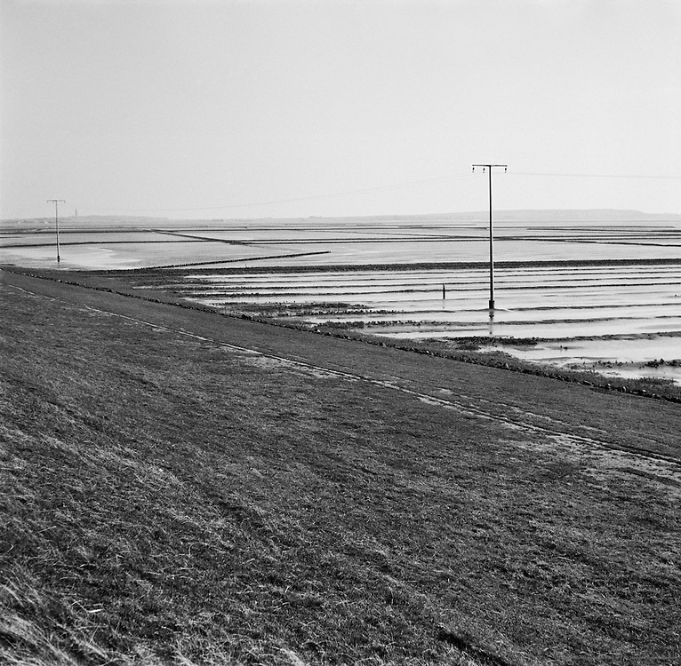 Land Reclaimed from the North Sea, 'Adolf Hitler Koog' (Dieksanderkoog) near Marne, Schleswig-Holstein, 1938