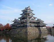 Matsumoto Jo, or Matsumoto Castle, is one of many historic castles in Japan.  Hard to attack, each castle had its own secrets to fight off enemy attacks.