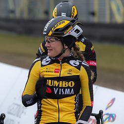 10-03-2021: Wielrennen: Healthy Ageing Tour: Assen<br />Karlijn Swinkels