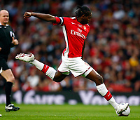 Jay Emmanuel-Thomas of Arsenal FA Cup 1st Leg Arsenal Youth v Liverpool Youth at Emirates  22/05/2009 Credit Colorsport / Kieran Galvin