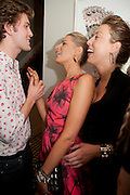 JOSH SYKES; TATIANA OF GREECE; ANDREA TESE, Party hosted for Jason Wu by Plum Sykes and Christine Al-Bader. Ladbroke Grove. London. 22 March 2011. -DO NOT ARCHIVE-© Copyright Photograph by Dafydd Jones. 248 Clapham Rd. London SW9 0PZ. Tel 0207 820 0771. www.dafjones.com.