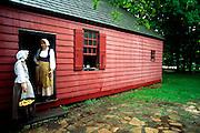 Women at Wick House, Jockey Hollow National Park, NJ.
