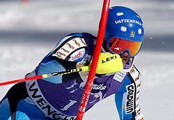 19.01.2014, Maennlichen Jungfrau, Wengen, SUI, FIS Weltcup Ski Alpin, Wengen, Slalom, Herren, im Bild Andre Myhrer (SWE) // during mens Slalom of FIS Ski Alpine World Cup at the Maennlichen Jungfrau in Wengen, Switzerland on 2014/01/19. EXPA Pictures © 2014, PhotoCredit: EXPA/ Freshfocus/ Christian Pfander<br /> <br /> *****ATTENTION - for AUT, SLO, CRO, SRB, BIH, MAZ only*****