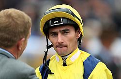 Jockey Daniel Tudhope during the racinguk.com/British Stallion Studs EBF Novice Stakes