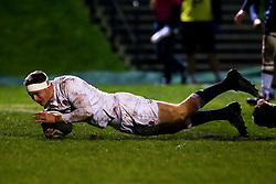 Connor Doherty of England scores a try - Mandatory by-line: Robbie Stephenson/JMP - 07/02/2020 - RUGBY - Myreside - Edinburgh, Scotland - Scotland U20 v England U20 - Six Nations U20