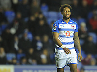 Reading's Liam Moore<br /> <br /> Photographer Kevin Barnes/CameraSport<br /> <br /> The EFL Sky Bet Championship - Reading v Bolton Wanderers - Tuesday 6th March 2018 - Madejski Stadium - Reading<br /> <br /> World Copyright © 2018 CameraSport. All rights reserved. 43 Linden Ave. Countesthorpe. Leicester. England. LE8 5PG - Tel: +44 (0) 116 277 4147 - admin@camerasport.com - www.camerasport.com