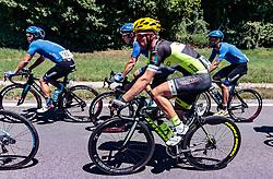 05.07.2017, Altheim, AUT, Ö-Tour, Österreich Radrundfahrt 2017, 3. Etappe von Wieselburg nach Altheim (226,2km), im Bild Fabian Lienhard (SUI, Team Vorarlberg) // Fabian Lienhard (SUI, Team Vorarlberg) during the 3rd stage from Wieselburg to Altheim (199,6km) of 2017 Tour of Austria. Altheim, Austria on 2017/07/05. EXPA Pictures © 2017, PhotoCredit: EXPA/ JFK