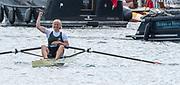 Henley-on-Thames. United Kingdom.  2017 Henley Royal Regatta, Henley Reach, River Thames. <br /> Final Princess Royal Challenge Cup. Final, winner. Annekatrin THIELE<br /> <br /> 15:00:14  Sunday  02/07/2017   <br /> <br /> [Mandatory Credit. Peter SPURRIER/Intersport Images.
