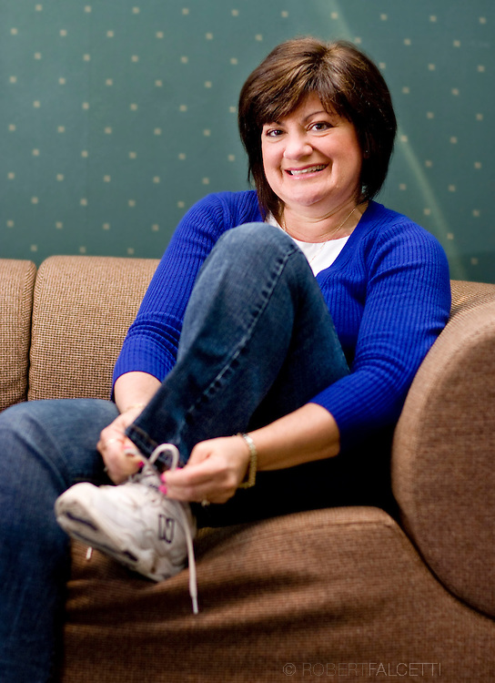 Toni is a Director of Human Resources at MacDermid Corp. and has returned to her normal activities after her heart procedure. (Photo by Robert Falcetti). .