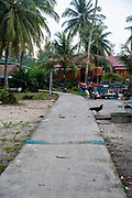 Image of the village of Preak Svay, Koh Rong Island, Cambodia.