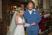 Holly & Julian's Wedding Ceremony on Saturday 25 May 2019 at St Margaret the Queen Church, Buxted, East Sussex TN22 4AY. Photo by Jane Stokes (DJ Stotty Images)