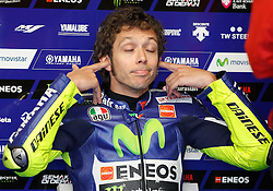 16.05.2015, Circuit, Le Mans, FRA, MotoGP, Grand Prix von Frankreich, Qualifying, im Bild 46 Valentino Rossi (ITA) // during the Qualifying for MotoGP Monster Energy France Grand Prix at the Circuit in Le Mans, France on 2015/05/16. EXPA Pictures © 2015, PhotoCredit: EXPA/ Eibner-Pressefoto/ Stiefel<br /> <br /> *****ATTENTION - OUT of GER*****