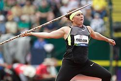 Olympic Trials Eugene 2012: women's Javelin, Dana Pounds-Lyon