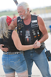 Harley-Davidson HOG pool party at the Full Throttle Saloon during the Sturgis Motorcycle Rally. SD, USA. Thursday, August 12, 2021. Photography ©2021 Michael Lichter.