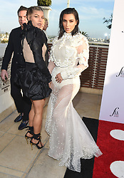 Guests arrive at the 3rd Annual Fashion LA Awards in Hollywood, California. 02 Apr 2017 Pictured: Fergie, Kim Kardashian. Photo credit: MEGA TheMegaAgency.com +1 888 505 6342