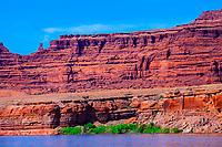 Meander Canyon area along the Colorado River, Canyonlands National Park, Utah, USA