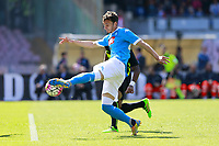 Manolo Gabbiadini Napoli,  <br /> Napoli 10-04-2016 Stadio San Paolo<br /> Football Calcio Serie A 2015/2016 Napoli - Hellas Verona<br /> Foto Cesare Purini / Insidefoto