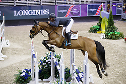 White Keean, CAN, For Freedom Z<br /> Longines FEI World Cup Jumping Final III, Omaha 2017 <br /> © Hippo Foto - Dirk Caremans<br /> 02/04/2017