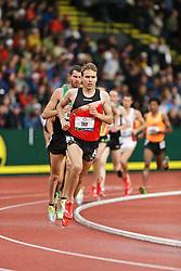 men's 5000 meters, heat: Ben True Ben True,