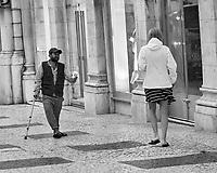Roma Pan handling. Street Photography. Morning tut-tu ride. Image taken with a Fuji X-T3 camera and 80 mm f/2.8 macro lens