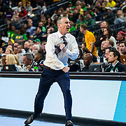 Mar 15, 2019  Las Vegas, NV, U.S.A.  Arizona State head coach Bobby Hurley reacts to a refs bad call during the NCAA Pac 12 Men's Basketball tournament semi-final between the Oregon Ducks and the Arizona State Sun Devils 75-79 lost at T Mobile Arena Las Vegas, NV.  Thurman James / CSM