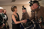 IONA DUCHESS OF ARGYLL, The Royal Caledonian Ball 2017, Grosvenor House, 29 April 2017