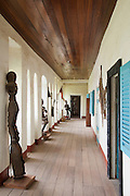 Cultural museum in the grounds of the Fons (local tribal leader) Palace at Bafut, Cameroon