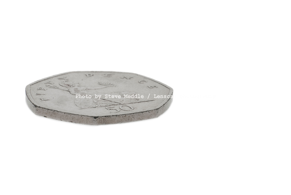 Fifty Pence Coin