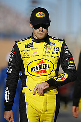 March 2, 2018 - Las Vegas, Nevada, United States of America - March 02, 2018 - Las Vegas, Nevada, USA: Ryan Blaney (12) hangs out on pit road before qualifying for the Pennzoil 400 at Las Vegas Motor Speedway in Las Vegas, Nevada. (Credit Image: © Chris Owens Asp Inc/ASP via ZUMA Wire)