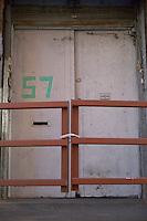 Doors to 57 Jay Street DUMBO Brooklyn New York