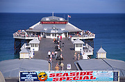 AMHK35 Cromer pier Norfolk England