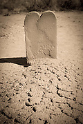A picture of an old gravestone in Utah. Missoula Photographer