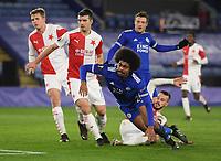 Football - 2020 / 2021 Europa League - Round of 32 - Second Leg - Leicester City vs Slavia Prague - King Power Stadium<br /> <br /> caption.<br /> <br /> COLORSPORT/ASHLEY WESTERN