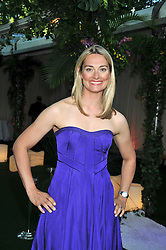 SARAH WEBB was part of the gold medal winning sailing team, affectionately named 'Three Blondes in a Boat', at the 2009 Glamour Magazine Awards held in Berkeley Square, London on 2nd June 2009.