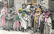 Children in Béni Mahfer, Algeria  at the turn of the 20th century